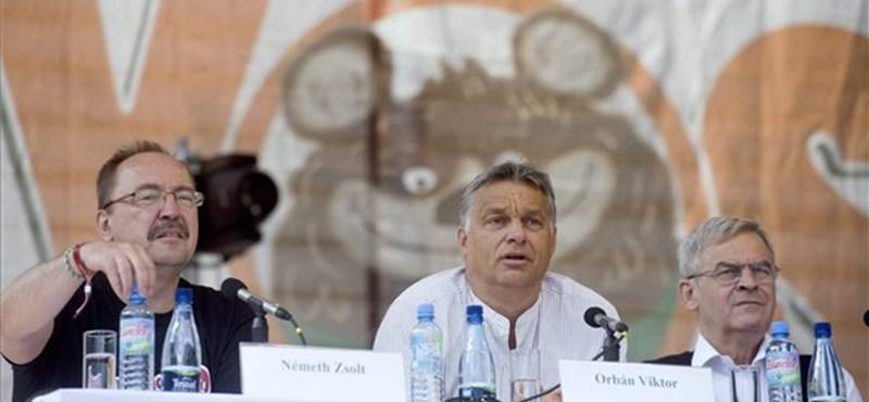 """Orbán: a baloldaliak """"nem szeretik a magyarokat"""""""