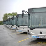 50 vadonatúj Mercedes busz áll forgalomba hat vidéki városban