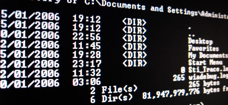 Vicces: még mindig DOS-on fut sok magyar önkormányzat