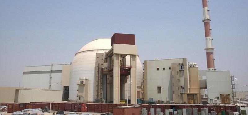 Atomerőmű közelében rengett a föld Iránban