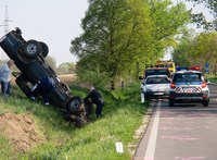Ijesztő fotók érkeztek a reggeli nagydorogi balesetről