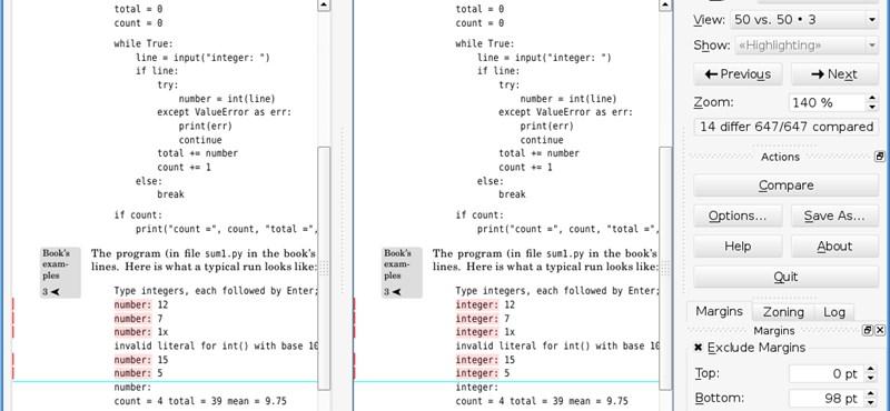 Pdf-ek villámgyors és egyszerű összehasonlítása egy ingyenes programmal