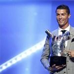 Cristiano Ronaldo lett az UEFA Év Játékosa - fotók