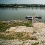 Így néz ki a Duna ott, ahol mínusz 67 centiméter a vízállás