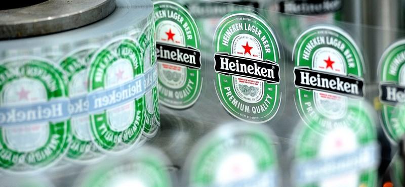 Nemet mond a Heineken a Csíki Sörnek