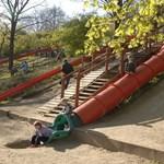 Felújítják a csúszdás játszóteret a Gellért-hegyen