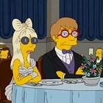 Lady Gaga a Simpson családban is egy divatdiktátor