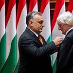 Orbán Viktor kitüntette Fekete Györgyöt