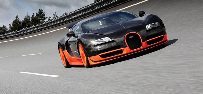 Még mindig a Veyron Super Sport a világ leggyorsabb autója
