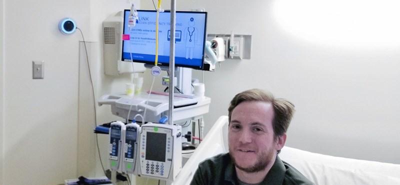 Okoshangszórót telepítettek egy amerikai kórházba, hogy ezzel segítsék a betegeket
