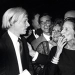 Andy Warhol és a Vogue nagyasszonya 1977-ben