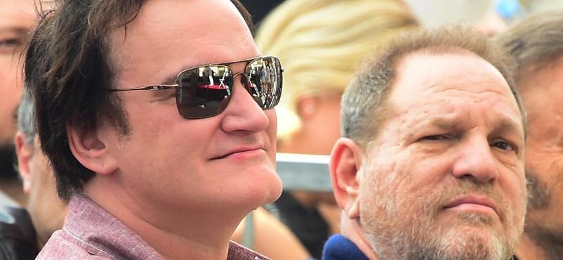Végre Tarantino is megszólalt a Weinstein-ügyben