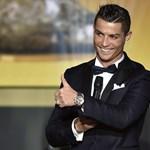 """Bemutatta új """"családtagját"""" Ronaldo"""