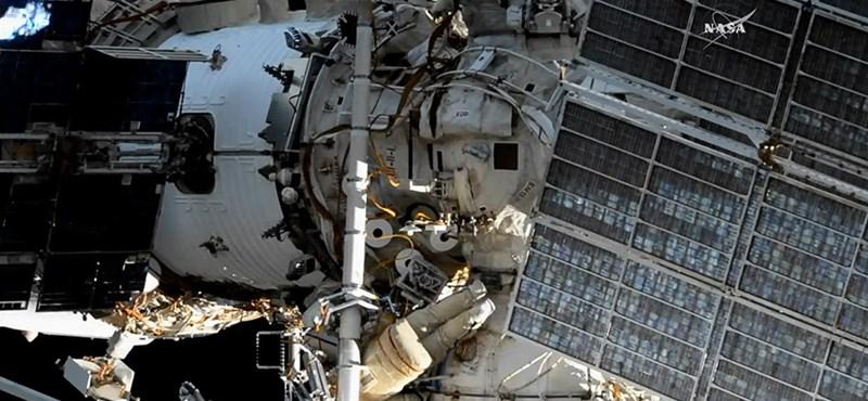 Évek óta nem repültek így a NASA űrhajósai