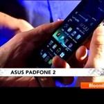 Először videón a különleges Asus Padfone 2