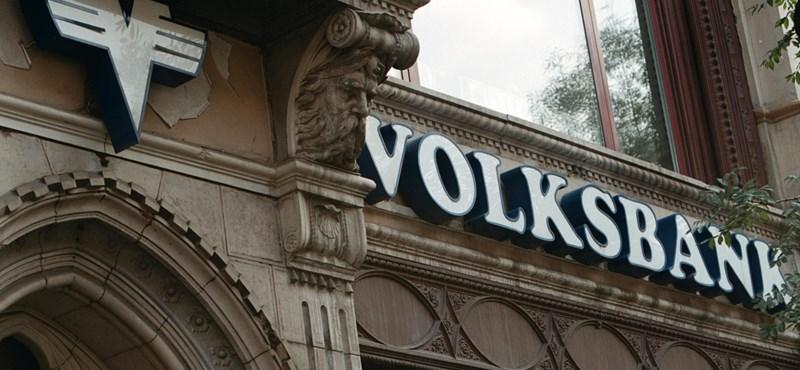 Profitfigyelmeztetést adott ki a Volksbank