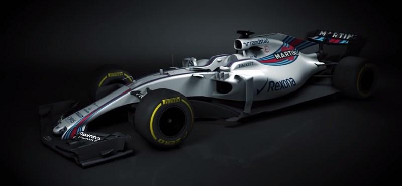 Közeleg az F1 szezon, az első fecske a Williams versenyautója