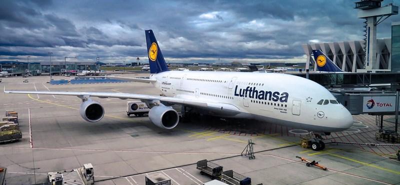 Kedden nem indul a Lufthansa-járatok több mint fele