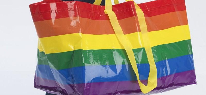 Ezúttal szivárványszínű táskákkal üzen az IKEA