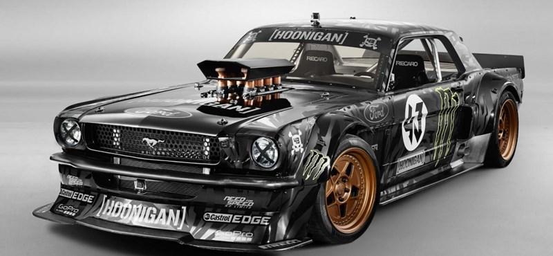 Ken Block új játékszere egy 865 lóerős veterán Mustang