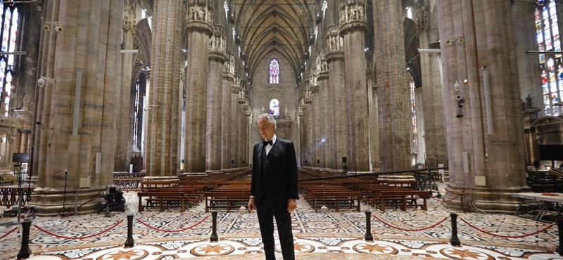 Andrea Bocelli simán megszegte a karantén szabályait