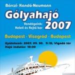 Gólyahajó 2007 a BMF szervezésében