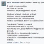 Jeszenszky Zsolt nagyon hosszan válaszol szerzőnknek, aki szóvá tette a polgári didzsé kifinomult stílusát, de valószínűleg tévedett, mert Zsolt csak viccelt