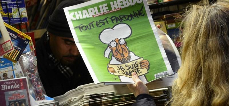Horribilis árakon kínálják a Charlie Hebdót az eBay-en