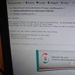 Ha ilyen e-mailt kap a NAV-tól, nehogy továbbkattintson