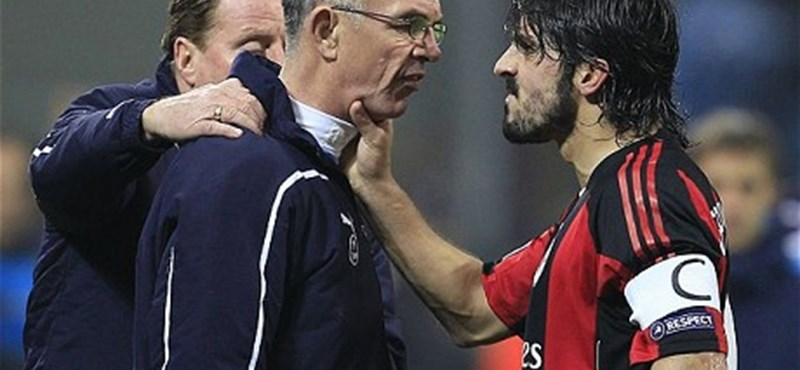 Videó: ütött és fejelt a feldühödött Gattuso, utólag elnézést kért