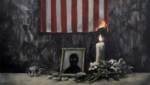 Banksy megrendítő alkotással reflektál George Floyd halálára