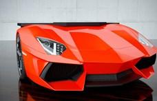 20 ezer dollárból Lamborghini Aventadort építettek 3D technikával