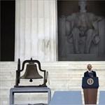 Obama tömegek előtt emlékezett meg Martin Luther Kingről