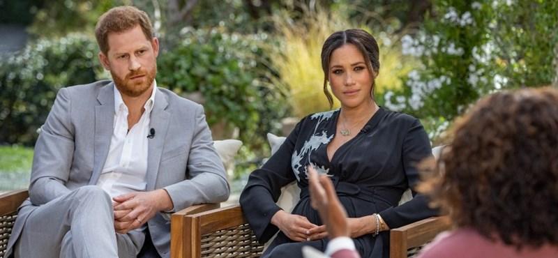Válságtanácskozást tartott a királyi család Harry herceg és Meghan Markle interjúja után