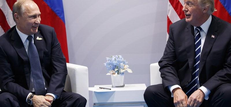 Máshogy emlékeznek az oroszok és az USA arra, mit mondott egymásnak Putyin és Trump