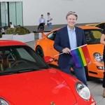 Színes 911-es sportkocsikkal készült a Porsche a német Pride-ra