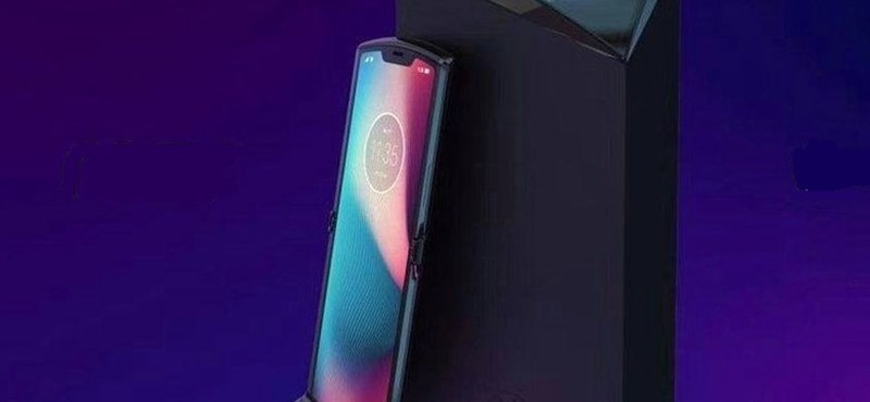 Új videó jött: ilyen lesz a Motorola összehajtható telefonja? Nem lenne rossz