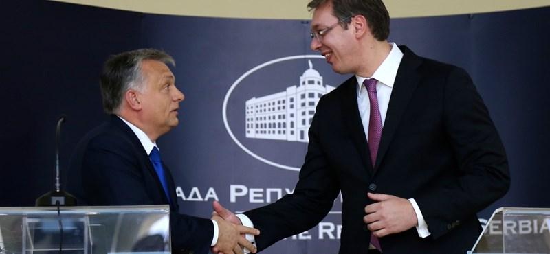 Szerb kollégája szerint baromság, hogy Orbánra hasonlít