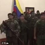 Helyzet van: fegyveresek próbálták elvenni a hatalmat Madurótól Venezuelában (videó)