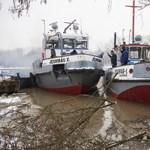 Tovább dolgozik a két Jégvirág a Tiszán