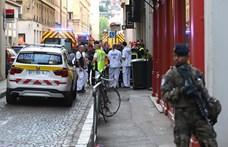 Robbanás történt Lyon központjában