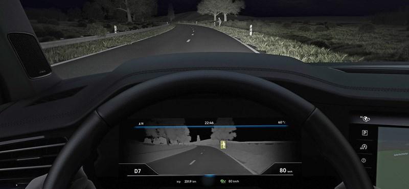 Éjjel is lát, de nem Predátor – hőkamerákkal teszik biztonságossá az autókat