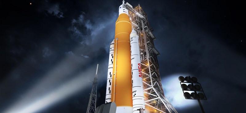 Újabb siker a NASA-nál: tökéletesen működik az új megarakéta