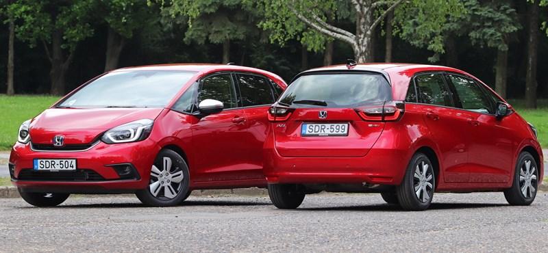 Kívül kicsi, belül nagy és teljesen hibrid: kipróbáltuk az új Honda Jazzt