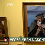 Baj lehet, ha nem restaurálják sürgősen Csontváry híres képét