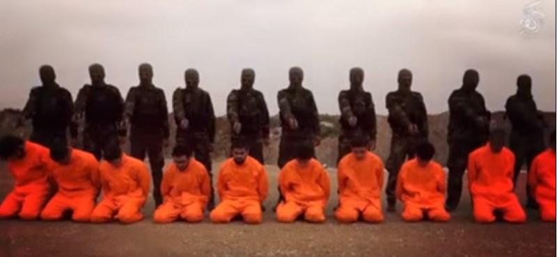 Kivégzéses videóra hajazó klippel vágtak vissza az Iszlám Államnak