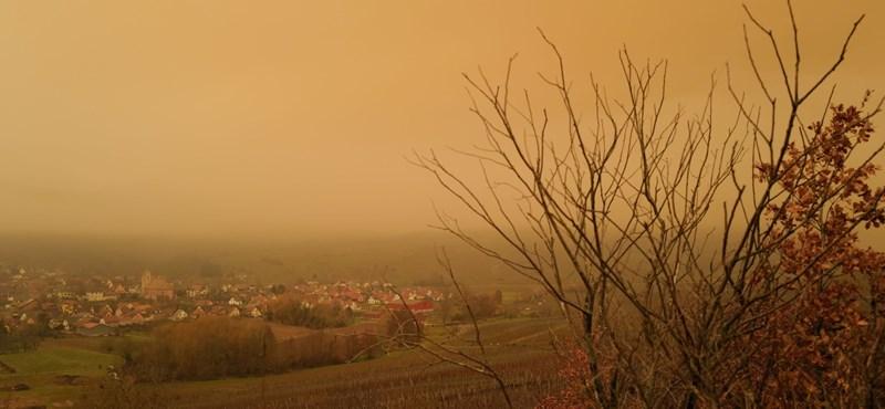 Ismét szaharai homokfelhő érkezik Európa fölé
