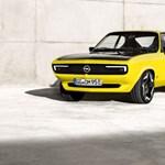 Elektromosként is kult autót csináltak az Opel Mantából?