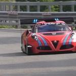 600 lóerős versenygépet faragtak az Alfa Romeo bébi-Ferrarijából