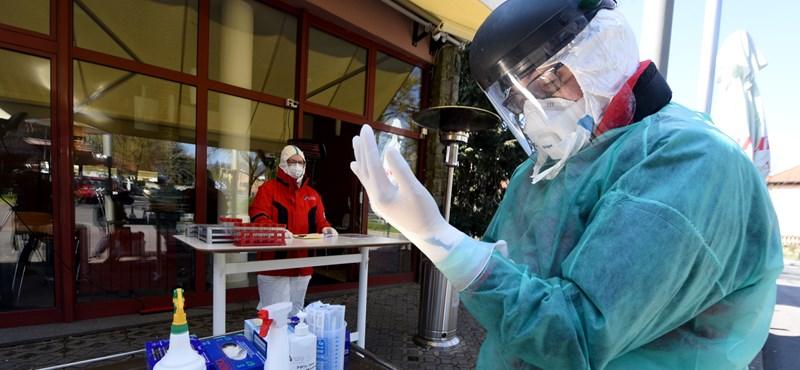 Horvátországban már ezernél is több fertőzött van